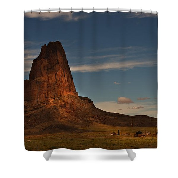 In The Shadow Shower Curtain