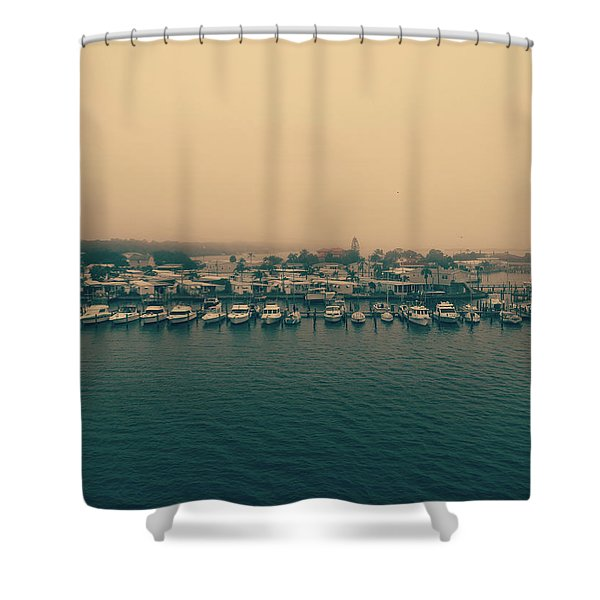 In The Slip Shower Curtain
