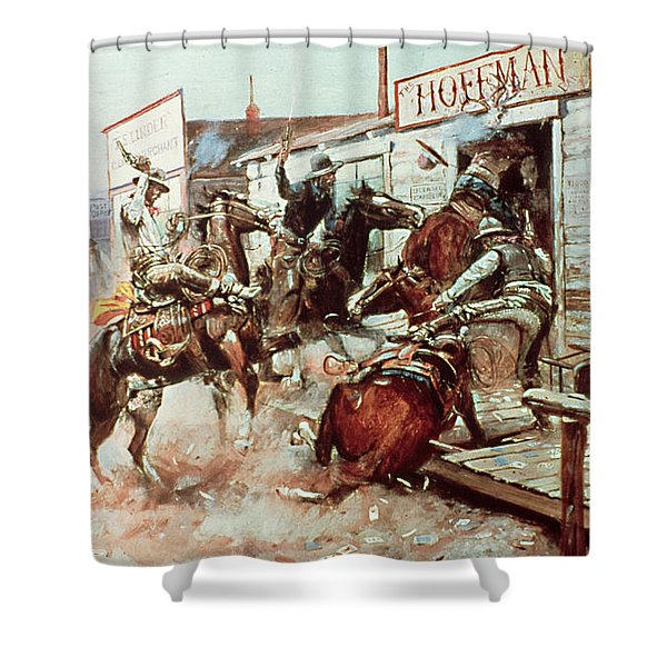 In Without Knocking Shower Curtain