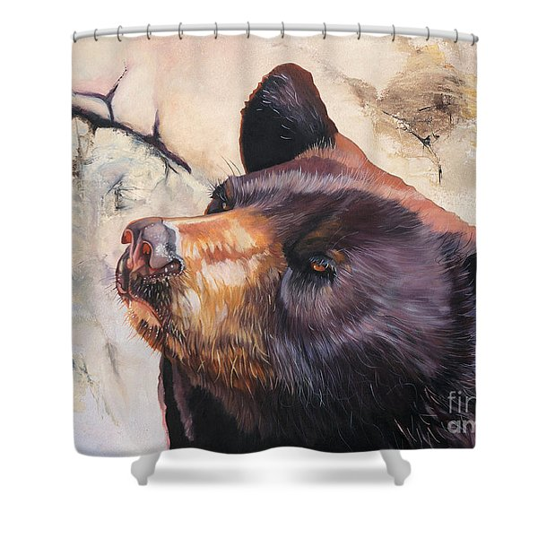 In Your Eyes Shower Curtain