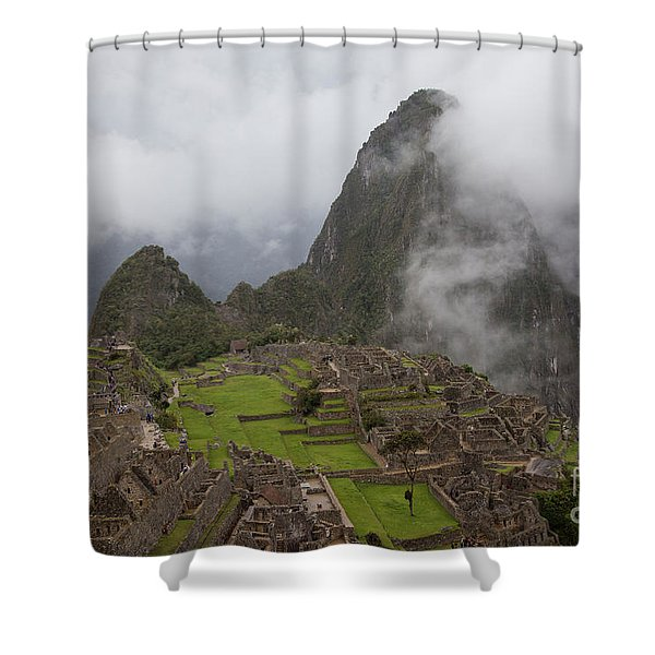 Inca Ruins Shower Curtain