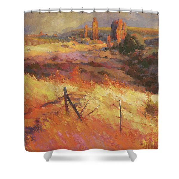 Incandescence Shower Curtain