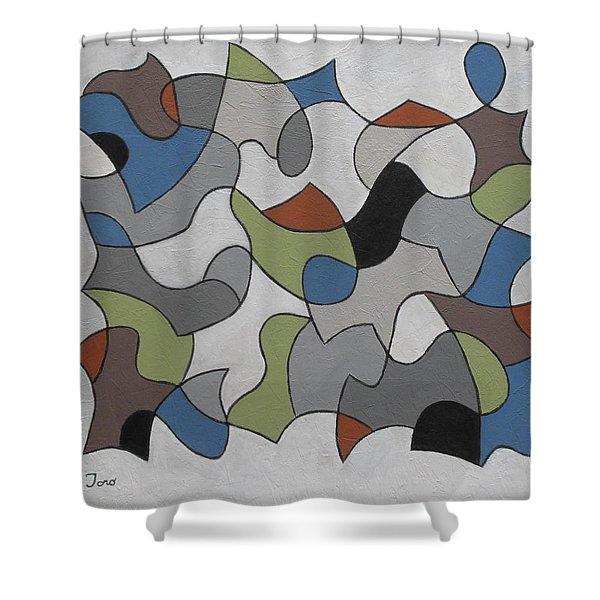 Incognito Shower Curtain