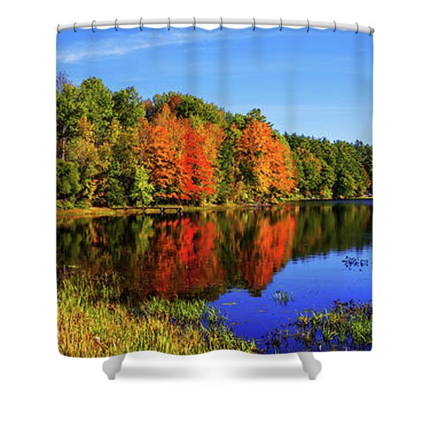 Incredible Pano Shower Curtain