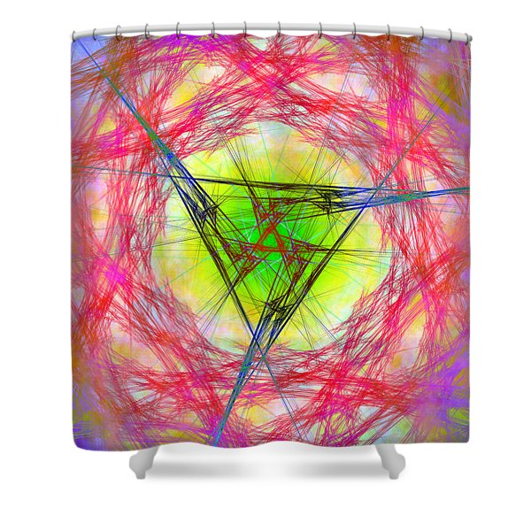 Incrusaded Shower Curtain