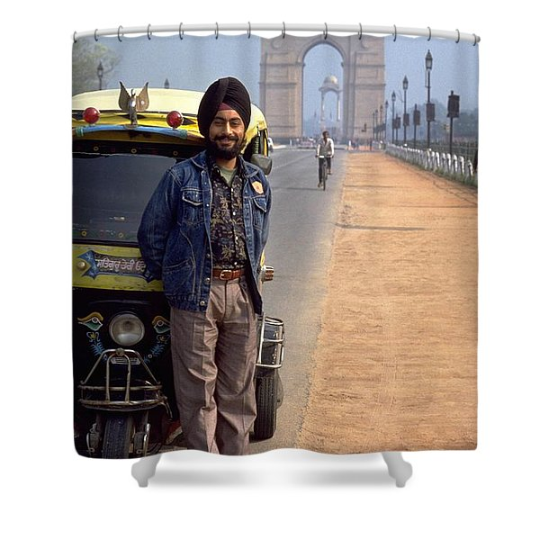 India Gate Shower Curtain