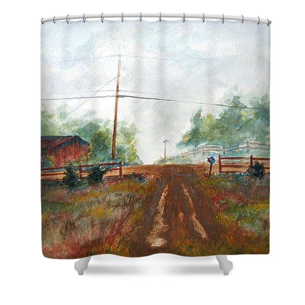 Indian Hills Shower Curtain