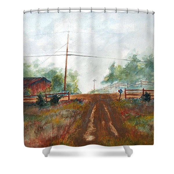 Indian Hills Shower Curtain