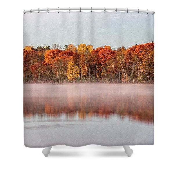 Indian Point Morning Shower Curtain