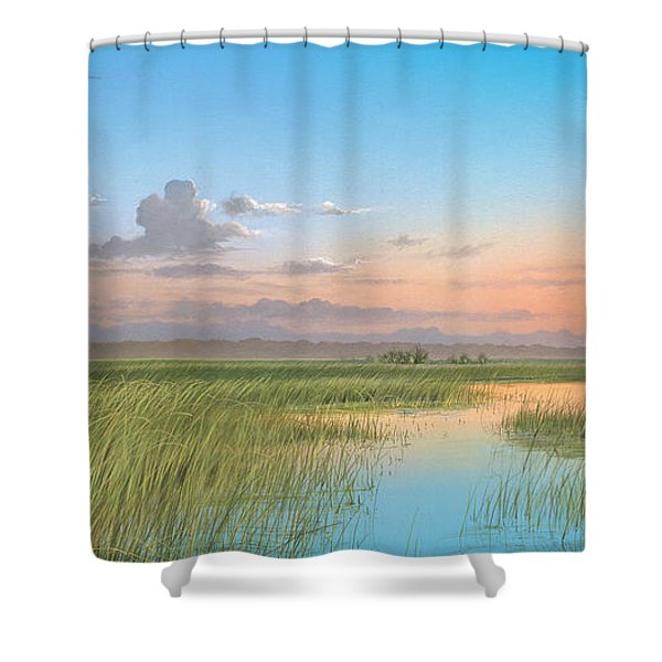 Indian River Shower Curtain