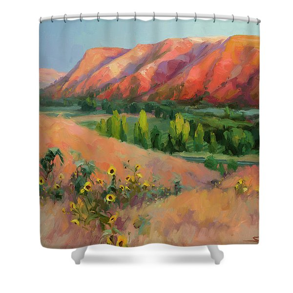 Indian Hill Shower Curtain