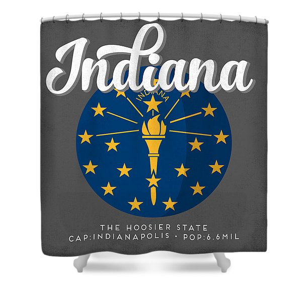 Indiana Defined Shower Curtain