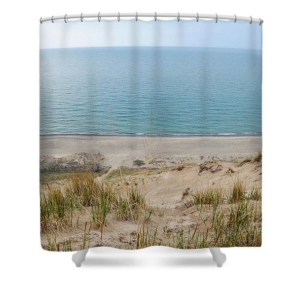 Indiana Dunes National Lakeshore Evening Shower Curtain
