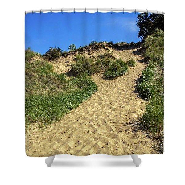 Indiana Dunes National Lakeshore Shower Curtain