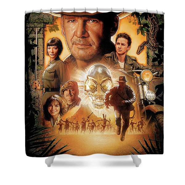 Indiana Jones And The Kingdom Of The Crystal Skull 2008 Shower Curtain