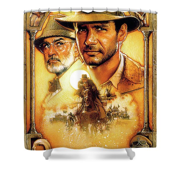 Indiana Jones And The Last Crusade 1989  1 Shower Curtain