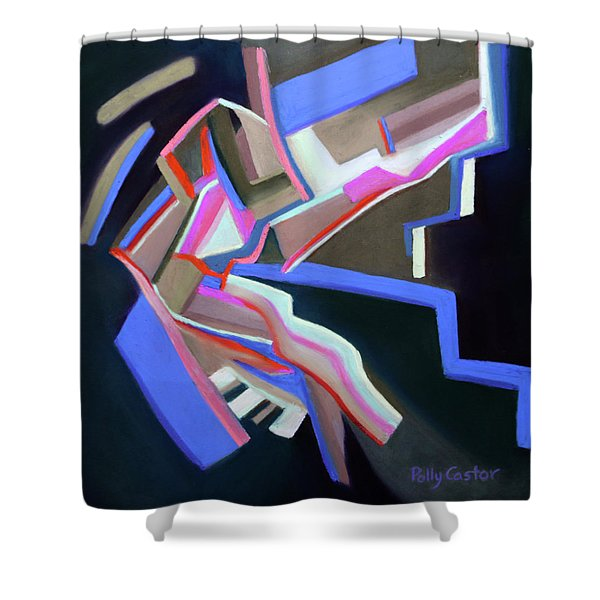 Indigenous Explorations  Shower Curtain