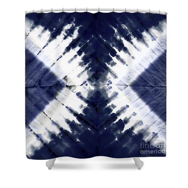 Indigo II Shower Curtain