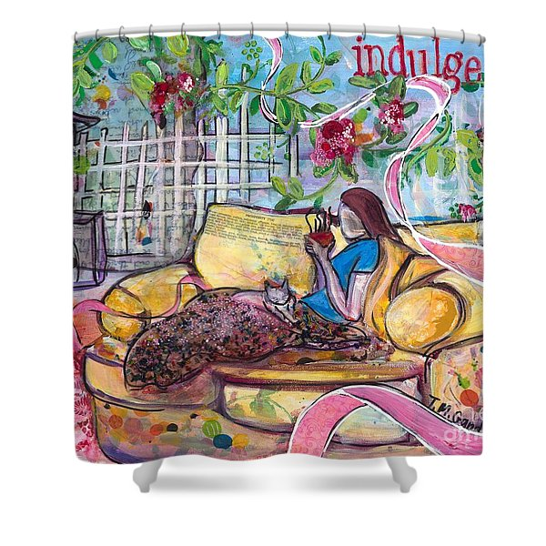 Indulge Shower Curtain