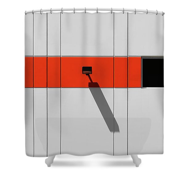 Industrial Minimalism 33 Shower Curtain