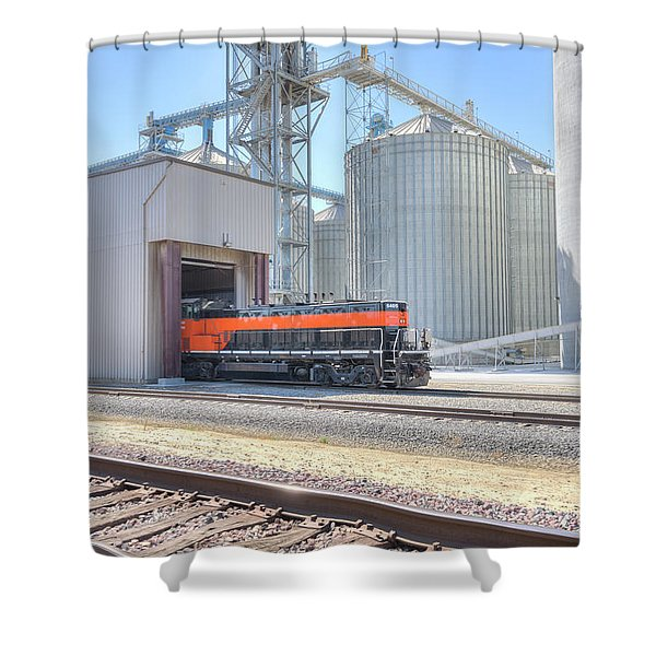 Industrial Switcher 5405 Shower Curtain