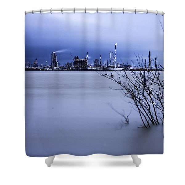 Industry In Color Shower Curtain