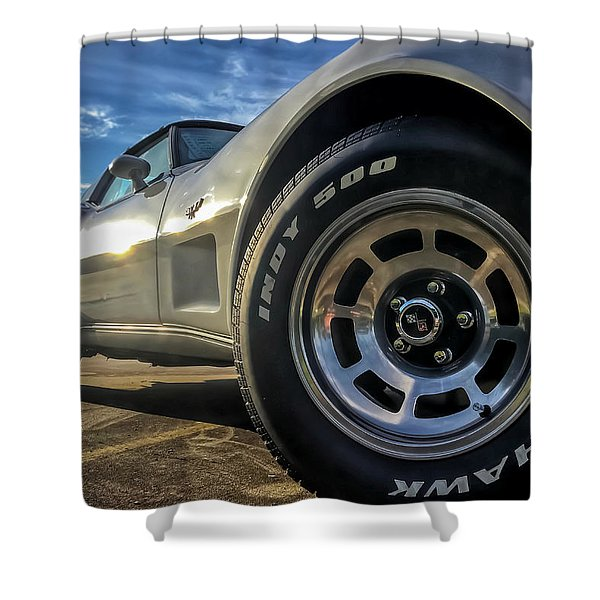 Indy 500 Color Shower Curtain