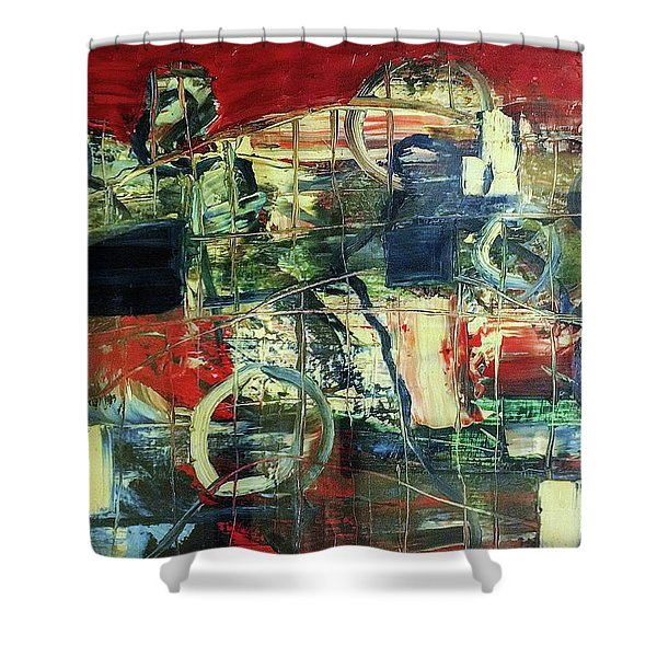 Indy 500 Shower Curtain
