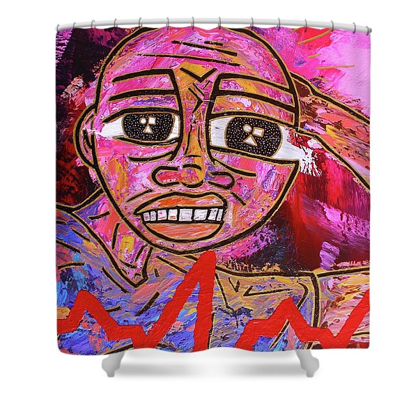 Infatuated Freddy Shower Curtain
