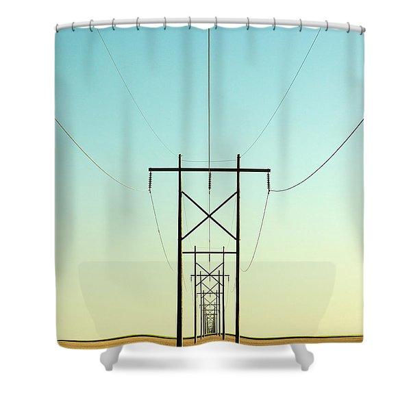 Infinite Conductivity Shower Curtain