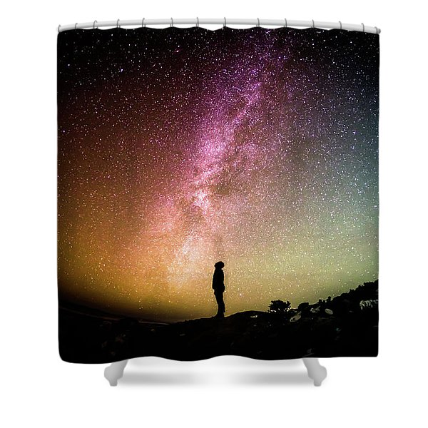 Infinite Possibilities Shower Curtain