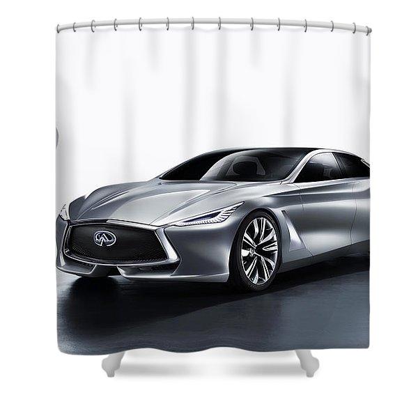 Infiniti Q80 Shower Curtain