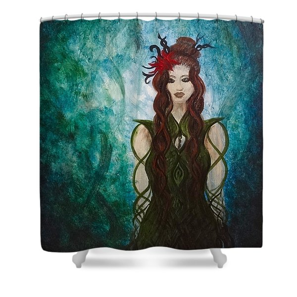 Infinity Goddess Shower Curtain