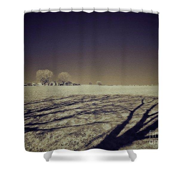 Infrared Landscape Lancaster Pa Shower Curtain