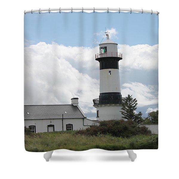 Inishowen Lighthouse Shower Curtain