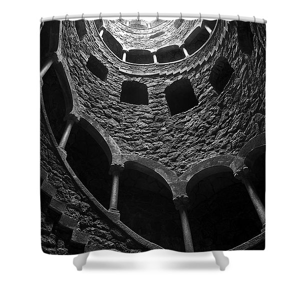 Initiation Well Shower Curtain