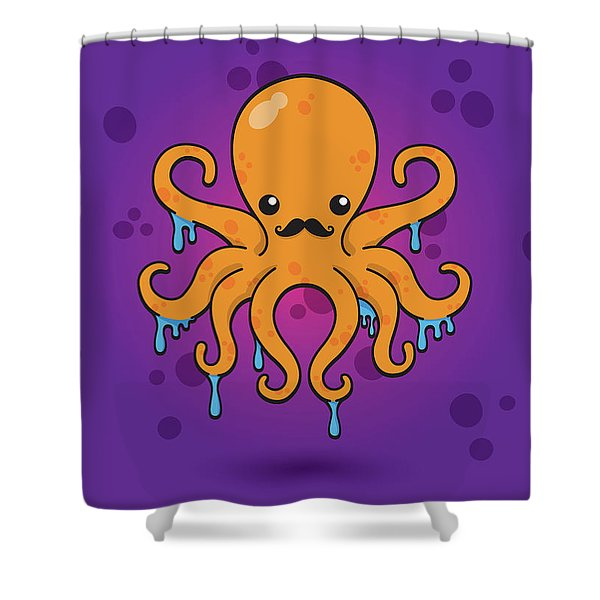 Inky Shower Curtain