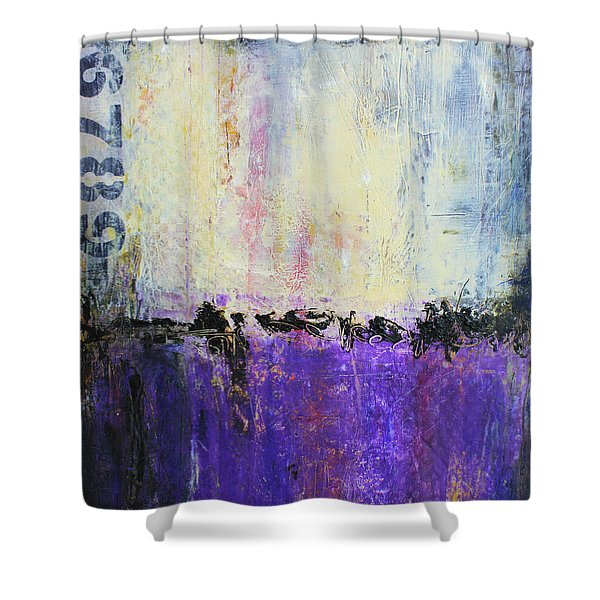 Inner City Blues Shower Curtain