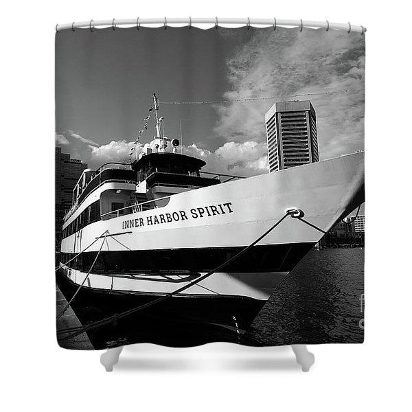 Port Of Baltimore Shower Curtains   Fine Art America