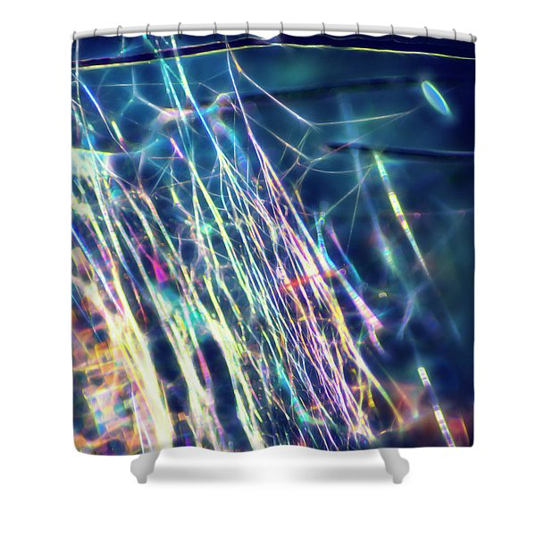 Inner Net II Shower Curtain