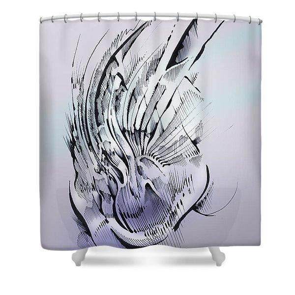 Inner Workings Shower Curtain