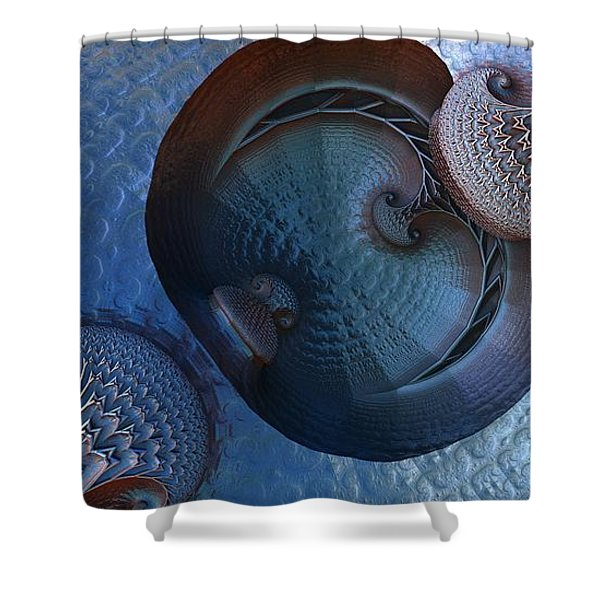 Innermost Reflections Shower Curtain