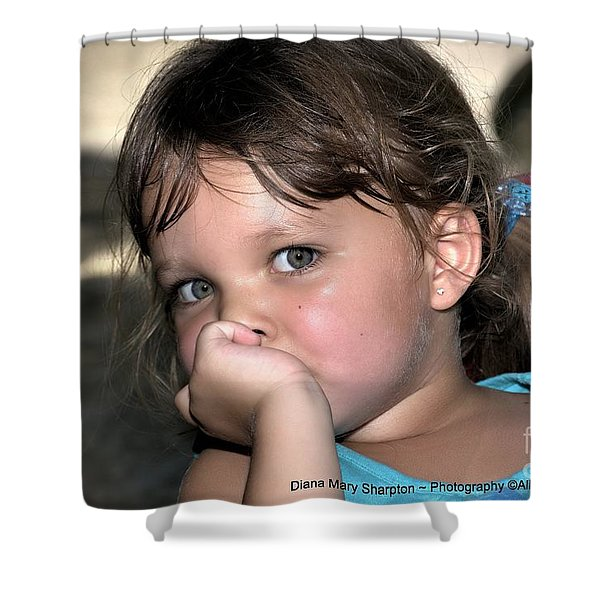 Innocense Shower Curtain
