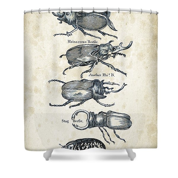 Insects - 1792 - 01 Shower Curtain