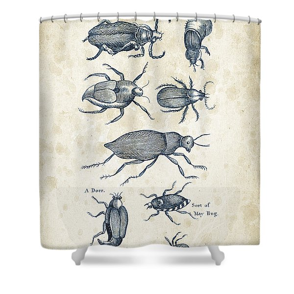 Insects - 1792 - 02 Shower Curtain