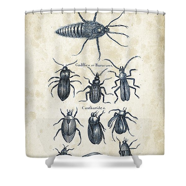 Insects - 1792 - 04 Shower Curtain