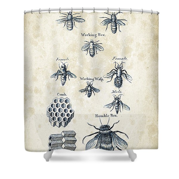 Insects - 1792 - 14 Shower Curtain