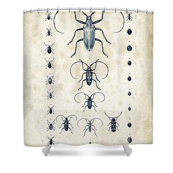 Insects - 1832 - 08 Shower Curtain
