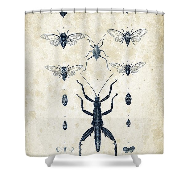 Insects - 1832 - 10 Shower Curtain