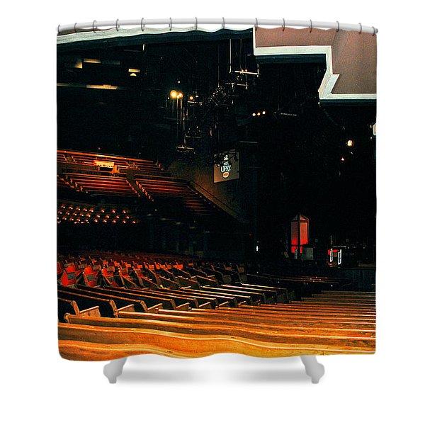 Inside Grand Ole Opry Nashville Shower Curtain
